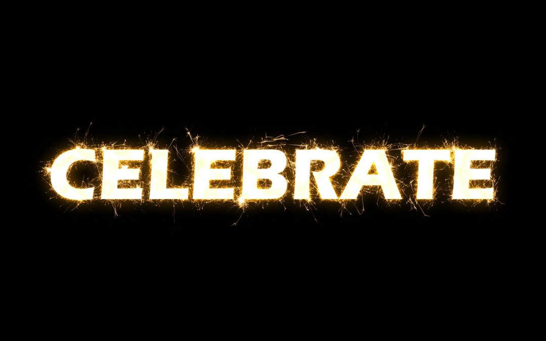 How do you celebrate and reward yourself when you achieve something?